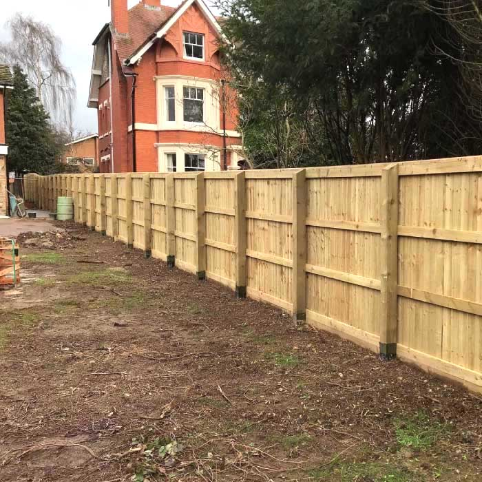 Postsaver Uses - Residential Fencing